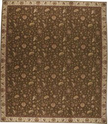 Hard To Find Sizes Saffira Sa02 Brown Rectangle Rug 12' X 14'