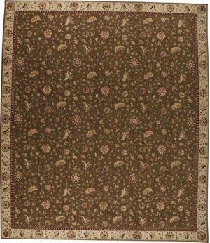 Hard To Find Sizes Saffira Sa02 Brown Rectangle Rug 12' X 14'