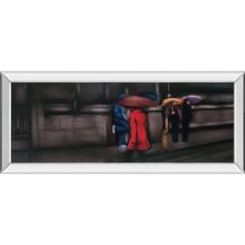 Down On the Street By Xavier Visa (mirrored Frame)
