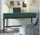 You're Going To Flip Teal Desk, 57-1/2''W x 22''D x 32-3/4''H Product Image