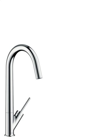 Chrome Single lever kitchen mixer with swivel spout Product Image
