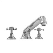 1500 Series Roman Tub Set with Sussex Handle