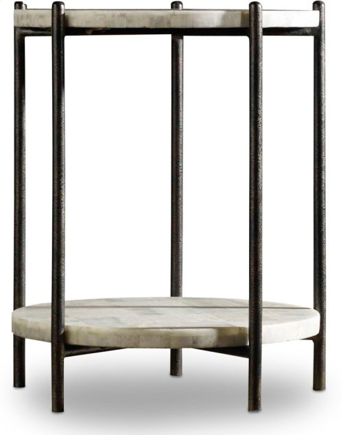Melange Blythe Accent Table