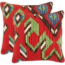 Katsina Pillow - Red