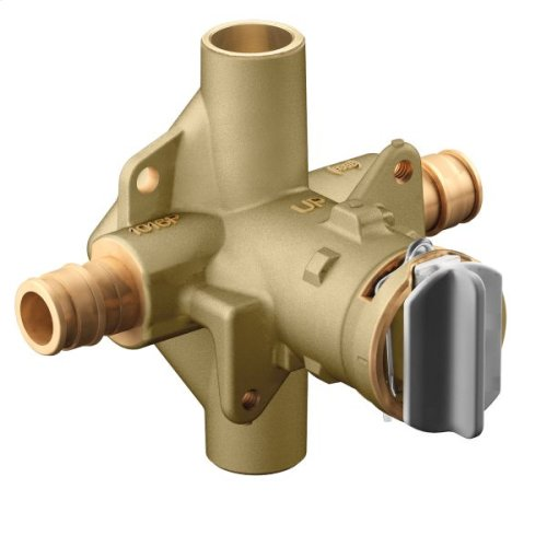 "M-Pact includes bulk pack posi-temp® 1/2"" cold expansion pex inlets/cc outlets connection pressure balancing"