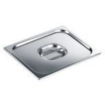 MieleStainless steel lid with handle for steam oven pan