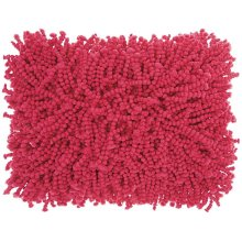 "Shag Dc105 Hot Pink 14"" X 20"" Throw Pillows"