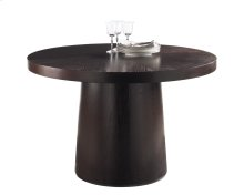Cameo Round Dining Table - Brown