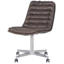 Pampas Charcoal Cover Malibu Desk Chair