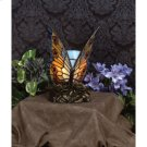 Orange Butterfly Accent Lamp in Architectural Bronze Product Image