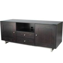 """Charcoal AV Stand For TVs up to 70"""" and 150 lbs / 68 kg"""