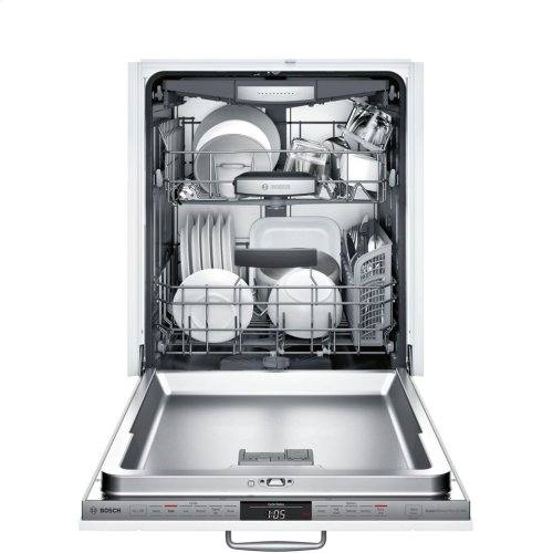 800 Series fully-integrated dishwasher 24'' Stainless steel SHVM78W53N