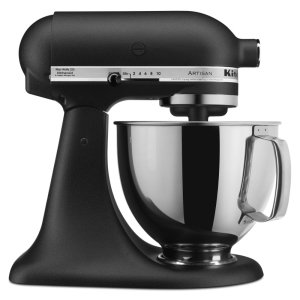 KitchenAidArtisan® Series 5 Quart Tilt-Head Stand Mixer - Cast Iron Black