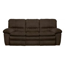Lay Flat Reclining Console Loveseat w/Storage & Cupholders