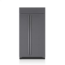 """42"""" Classic Side-by-Side Refrigerator/Freezer with Internal Dispenser - Panel Ready"""