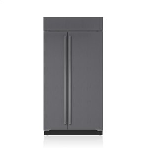 "Sub-Zero42"" Classic Side-by-Side Refrigerator/Freezer with Internal Dispenser - Panel Ready"