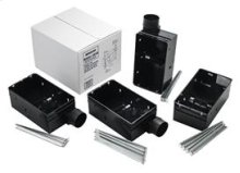 Housing Pack for 655F, 656F, 657F, 658F and 659F (damper/duct connector included). Type IC