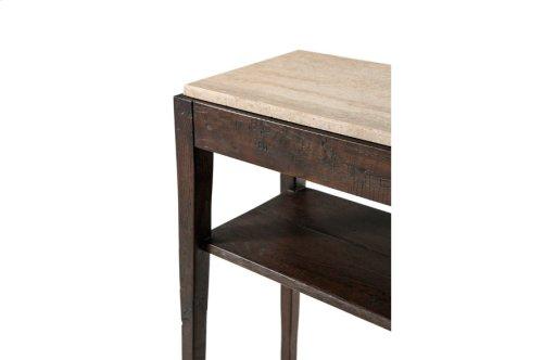 Tay Console Table, Dark Echo Oak