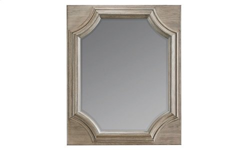 Arch Salvage Searles Mirror - Parchment
