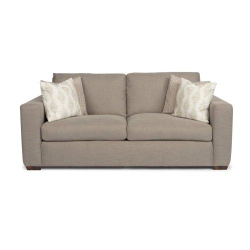 Collins Fabric Two-Cushion Sofa