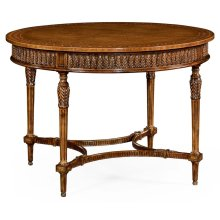 Napoleon III Style Circular Centre Table with Fine Inlay