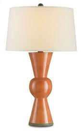 Upbeat Orange Table Lamp