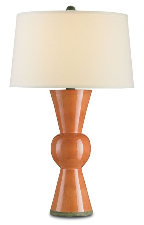 Upbeat Orange Table Lamp