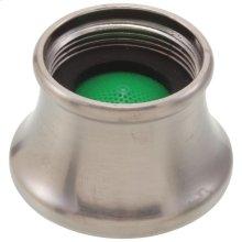 Brushed Nickel Aerator