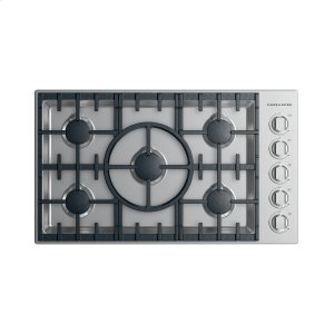 "Fisher & PaykelGas Cooktop, 36"", LPG"