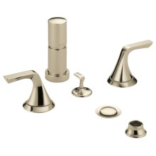 Two-handle Bidet Faucet
