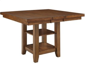 """Canyon High Top Table Collection Pecan Includes High Top Table, 24"""" Full Stool, Server, and Hutch.  Can Buy Separately."""