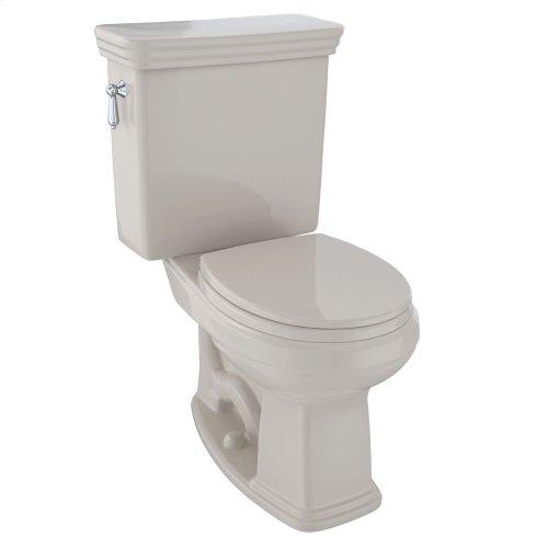 Eco Promenade® Two-Piece Toilet, 1.28 GPF, Round Bowl - Bone