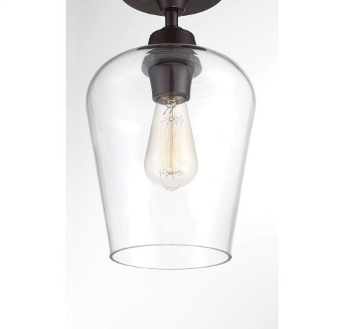 Octave 1 Light Semi-Flush