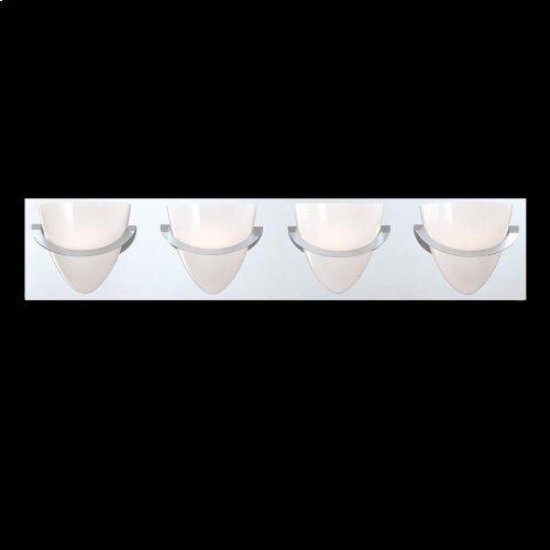 4-LIGHT BATHBAR - Chrome