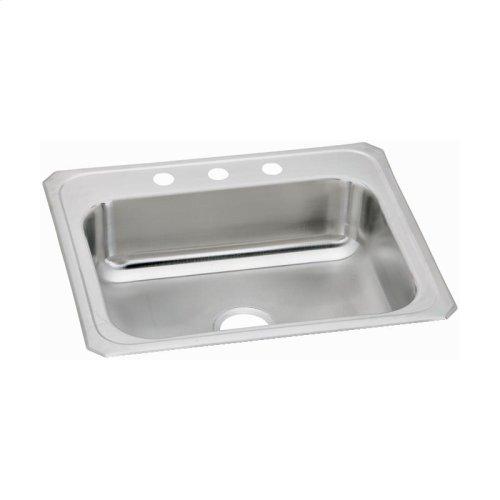 """Elkay Celebrity Stainless Steel 31"""" x 22"""" x 6-7/8"""", Single Bowl Drop-in Sink"""