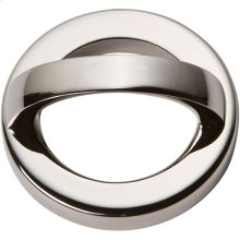 Tableau Round Base and Top 1 13/16 Inch - Polished Nickel