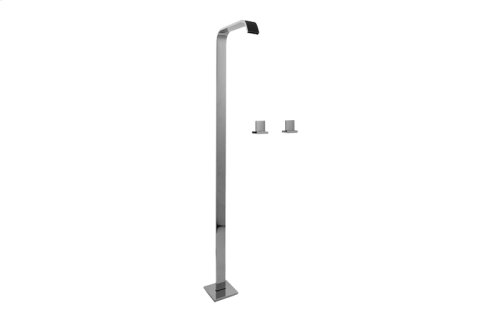 Targa Floor-Mounted Vessel Filler w/Deck-Mtd Handles