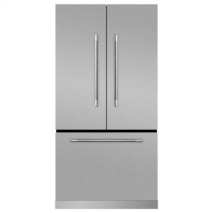 MarvelMarvel Mercury French Door Counter-Depth Refrigerator - Marvel Mercury French Door Refrigerator - Stainless Steel