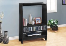 BOOKCASE - BLACK / STORAGE UNIT