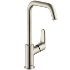 Brushed Nickel Focus 240 Single-Hole Faucet, 1.2 GPM