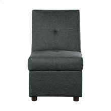 Storage Ottoman/Chair, Gray
