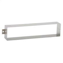 Door Accessories  Mail Slot Sleeve - Satin Chrome