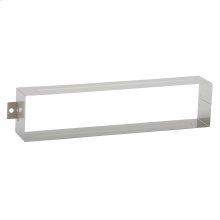 Door Accessories  Mail Slot Sleeve - Satin Chrome