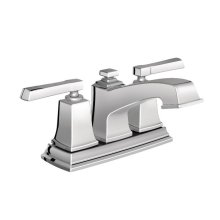 Boardwalk chrome two-handle bathroom faucet