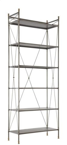 Pewter & Brass Etagere