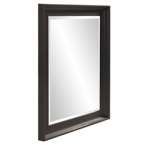 Parker Black Rectangle Mirror