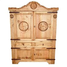 Rope Armoire W/ Star