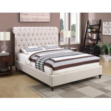 Devon Transitional Beige Eastern King Bed