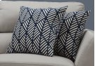"PILLOW - 18""X 18"" / DARK BLUE GEOMETRIC DESIGN / 2PCS Product Image"