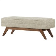 Newton Fabric Bench, Rice